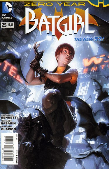 Batgirl Cover - 1/1/2014