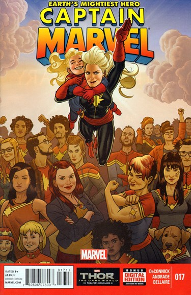 Captain Marvel Cover - 1/1/2014