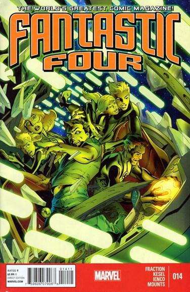 Fantastic Four Cover - 1/1/2014
