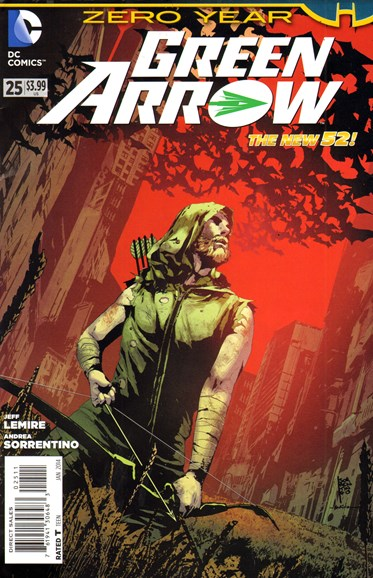 Green Arrow Cover - 1/1/2014