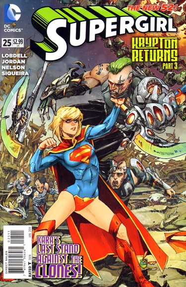 Supergirl Cover - 1/1/2014