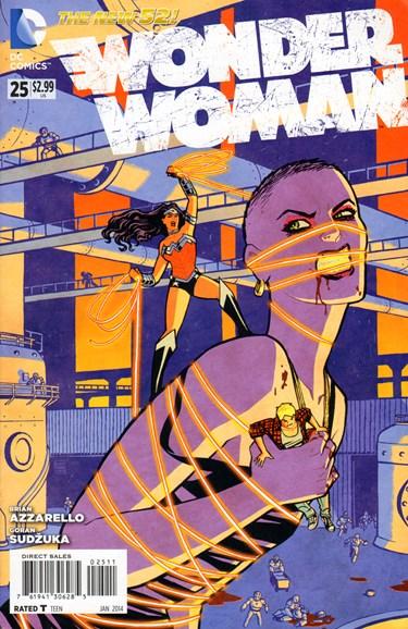 Wonder Woman Cover - 1/1/2014