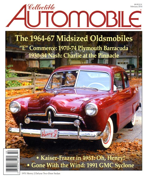 Collectible Automobile Cover - 2/1/2014