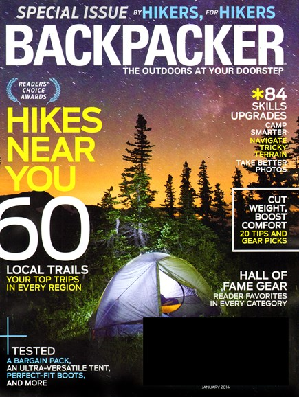 Backpacker Cover - 1/1/2014