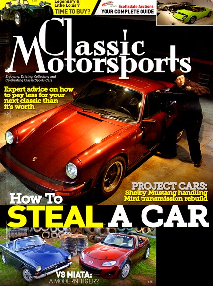 Classic Motorsports Cover - 1/1/2014