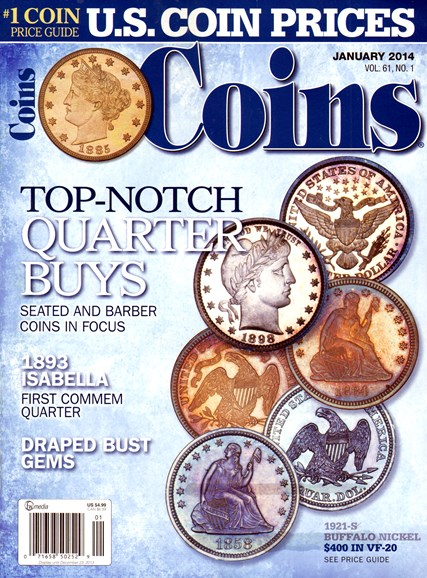 Coins Cover - 1/1/2014