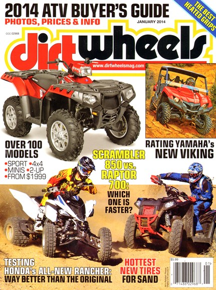 Dirt Wheels Cover - 1/1/2014