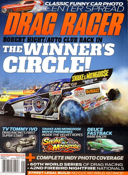 Drag Racer Cover - 1/1/2014