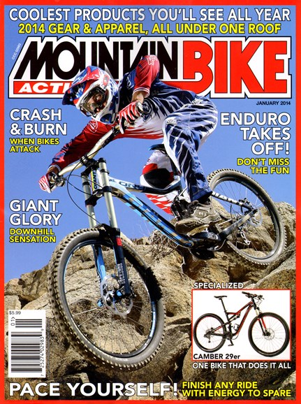 Mountain Bike Action Cover - 1/1/2014