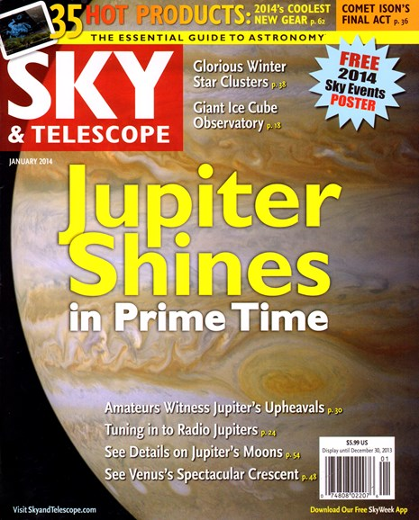 Sky & Telescope Cover - 1/1/2014