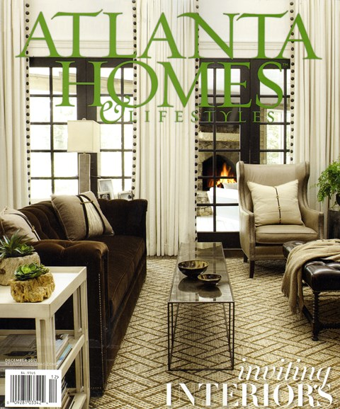 Atlanta Homes & Lifestyles Cover - 12/1/2013