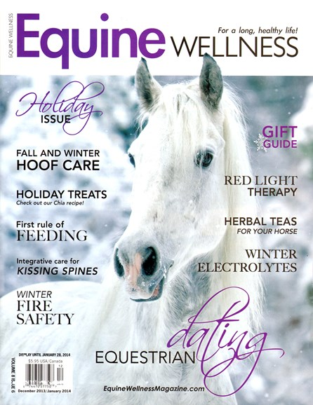 Equine Wellness Cover - 12/1/2013