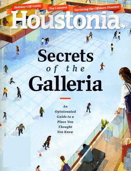 Houstonia Cover - 12/1/2013