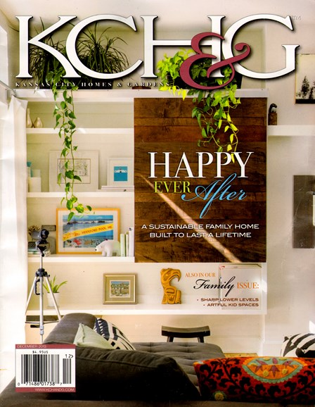 Kansas City Homes & Gardens Cover - 12/1/2013