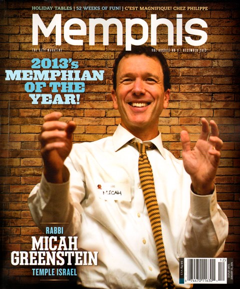 Memphis Cover - 12/1/2013