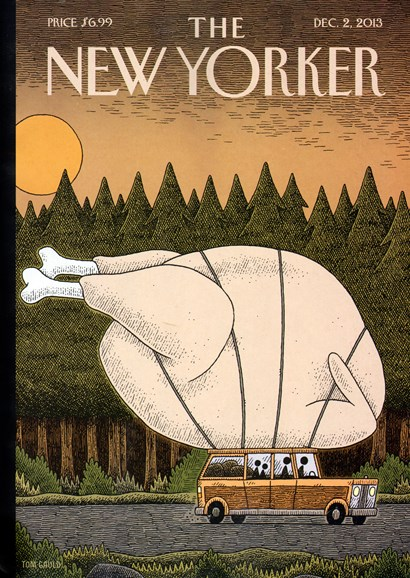 The New Yorker Cover - 12/2/2013