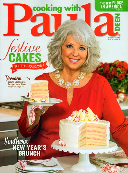 Cooking With Paula Deen Cover - 12/1/2013