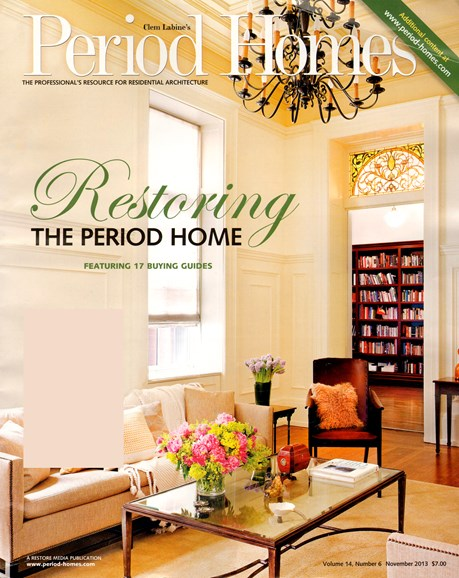 Period Homes Cover - 11/1/2013