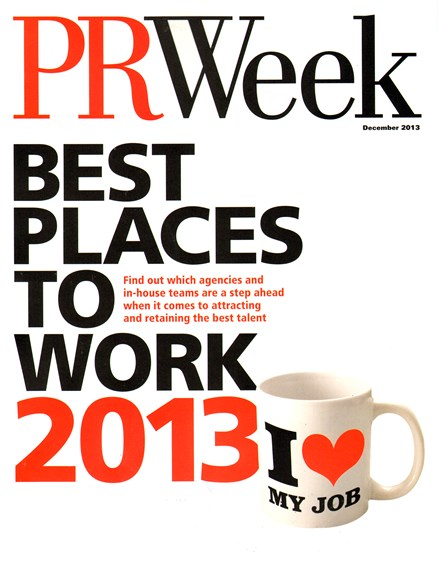 PRWeek Cover - 12/1/2013