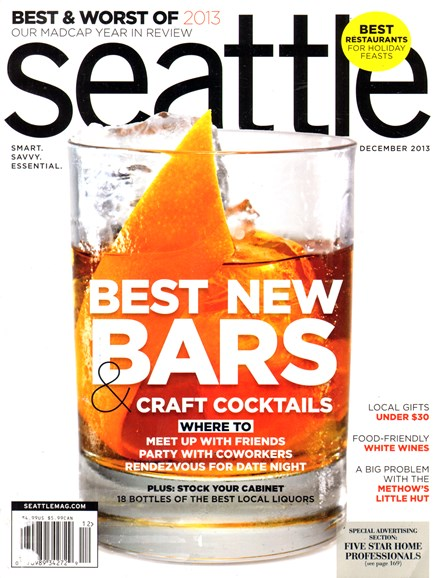 Seattle Magazine Cover - 12/1/2013