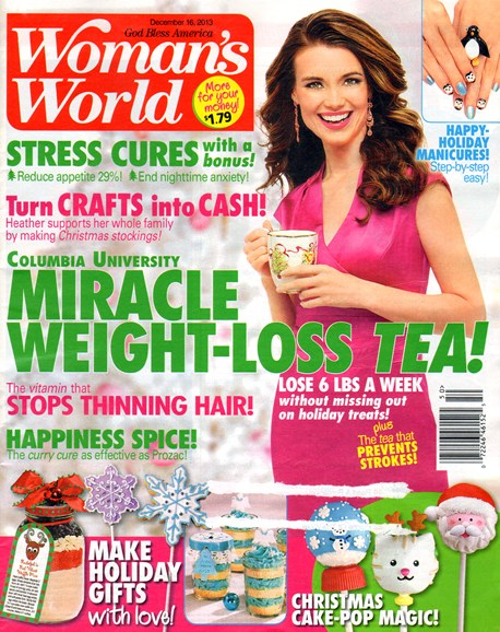 Woman's World Cover - 12/16/2013