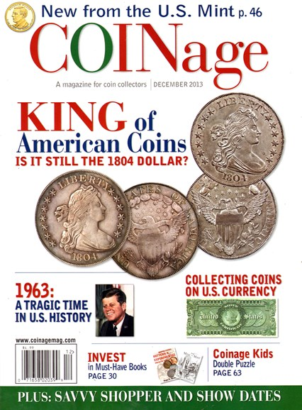 Coinage Cover - 12/1/2013