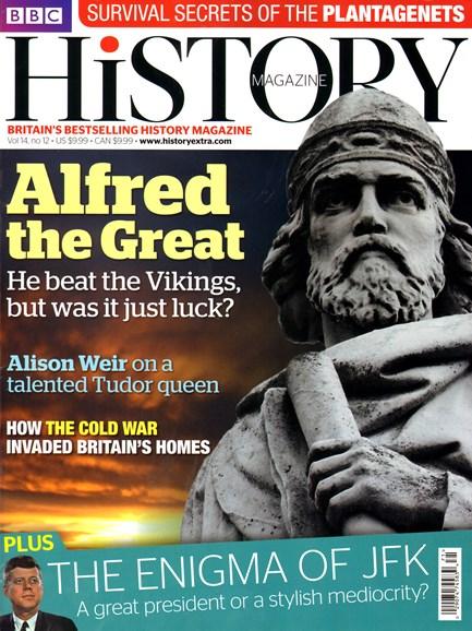 BBC History Cover - 12/1/2013