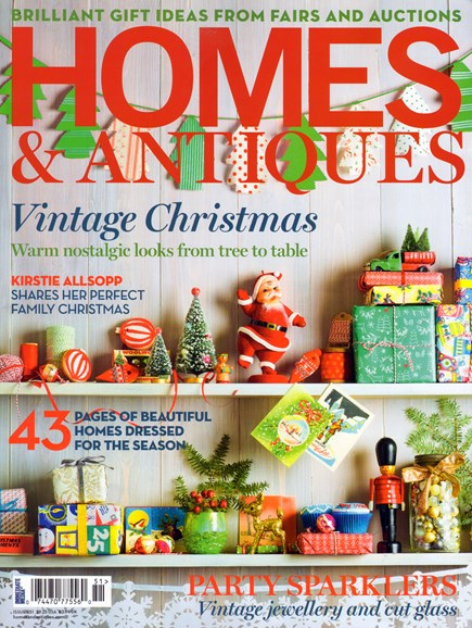 Homes & Antiques Cover - 12/1/2013