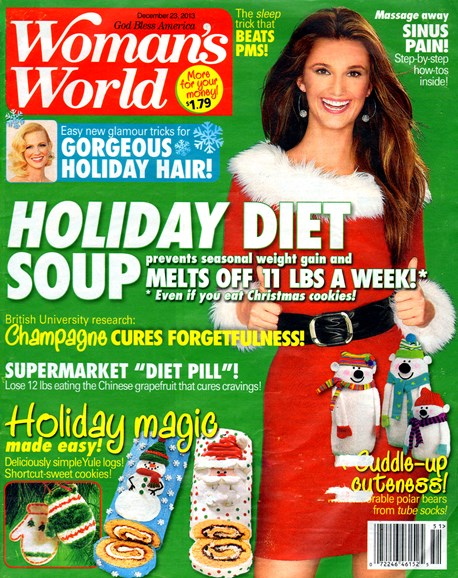 Woman's World Cover - 12/23/2013