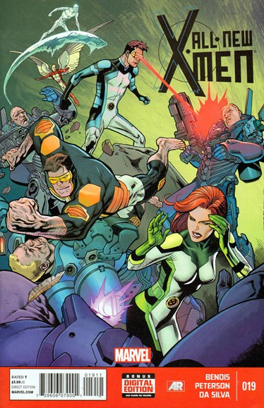 X-Men Blue Cover - 1/1/2014