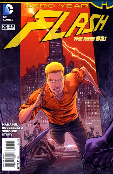 The Flash Cover - 1/1/2014