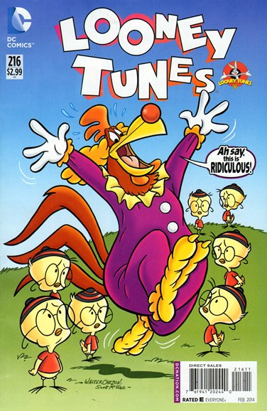 Looney Tunes Cover - 2/1/2014