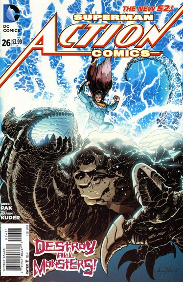 Action Comics Cover - 2/1/2014