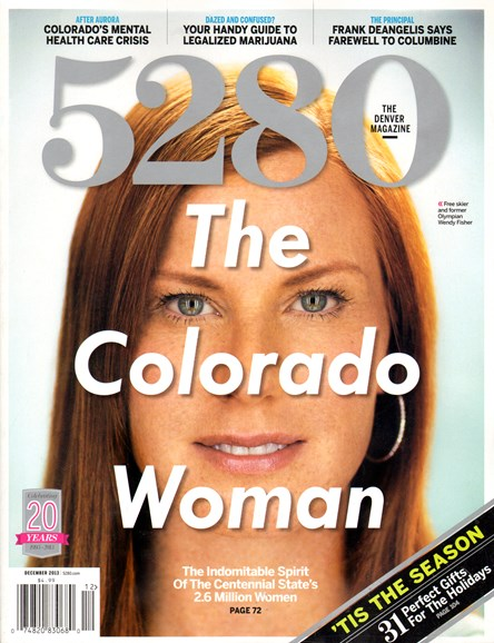 5280 Magazine Cover - 12/1/2013