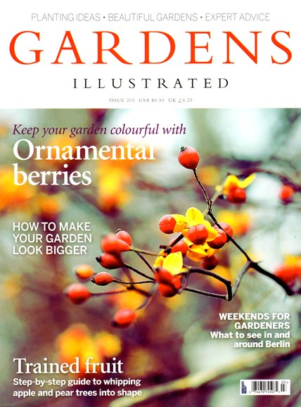 Gardens Illustrated Cover - 11/1/2013