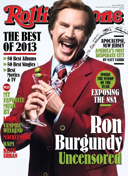 Rolling Stone Cover - 12/19/2013