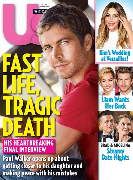 Us Weekly Cover - 12/16/2013