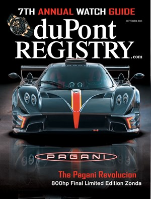 Dupont Registry Of Fine Autos | 10/1/2013 Cover