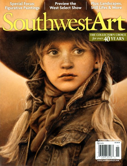 Southwest Art Cover - 11/1/2013