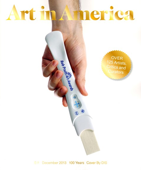 Art In America Cover - 12/1/2013