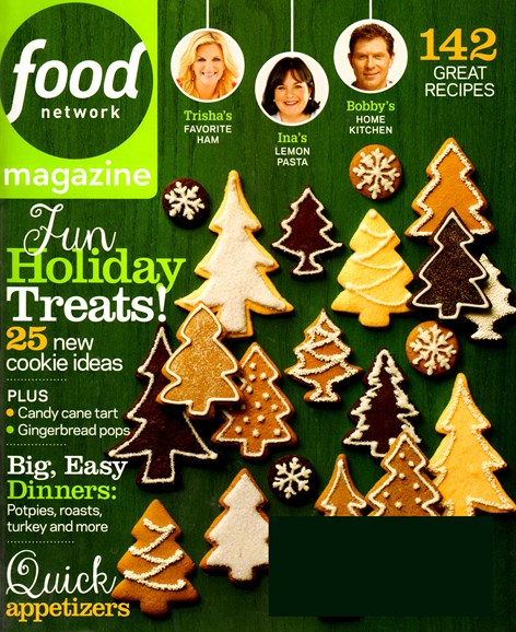 Food Network Cover - 12/1/2013