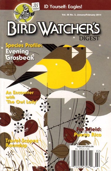 Bird Watcher's Digest Cover - 1/1/2014