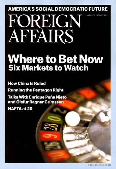 Foreign Affairs Cover - 1/1/2014