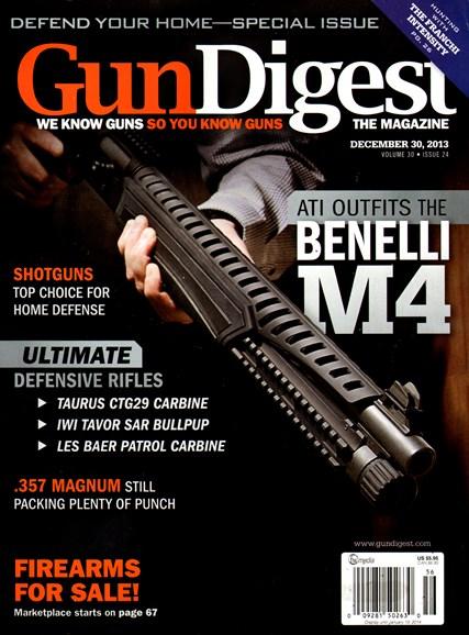 Gun Digest Cover - 12/30/2013