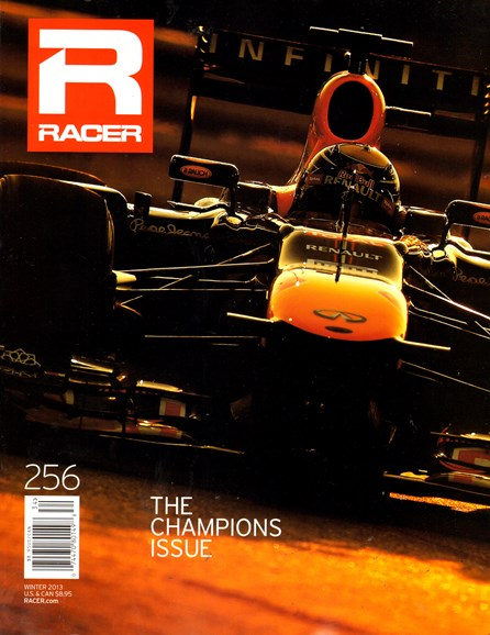 Racer Cover - 12/1/2013