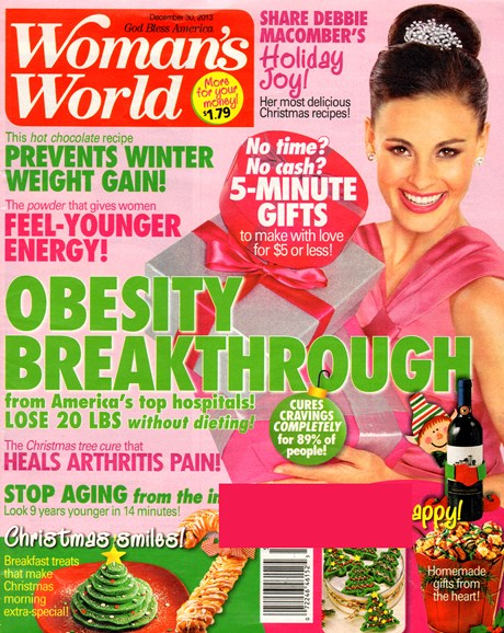 Woman's World Cover - 12/30/2013