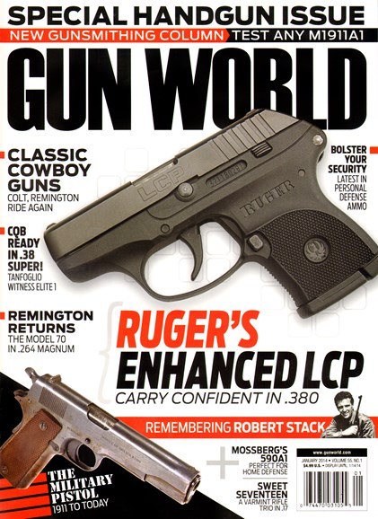 Gun World Cover - 1/1/2014