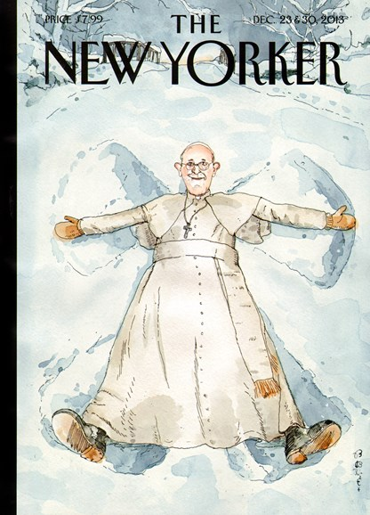 The New Yorker Cover - 12/23/2013