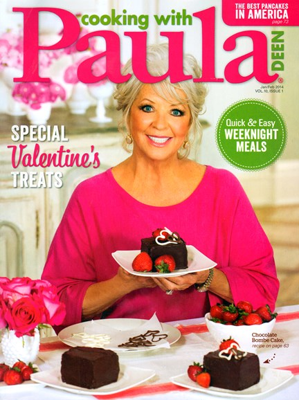 Cooking With Paula Deen Cover - 1/1/2014