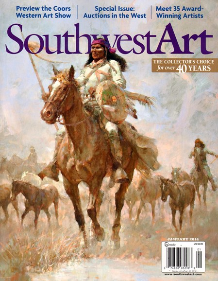 Southwest Art Cover - 1/1/2014
